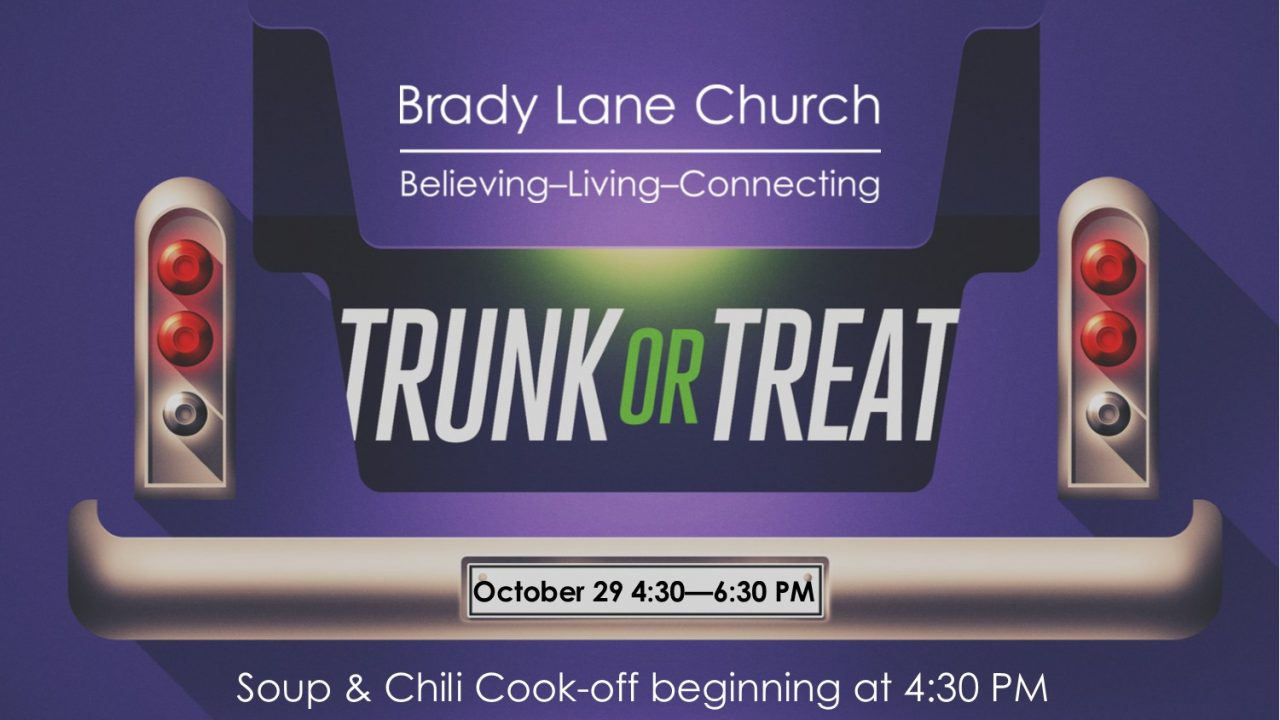 Soup & Chili Cookoff / Trunk-or-treat Event