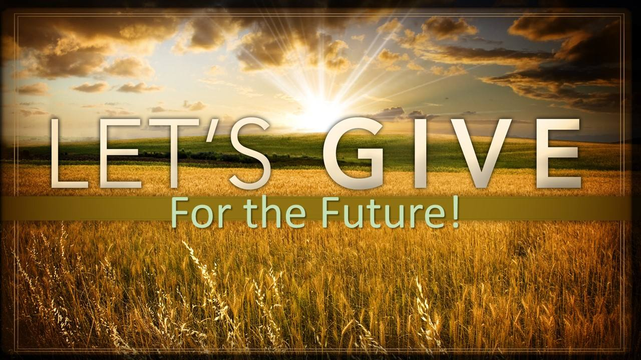 Let's Give for the Future