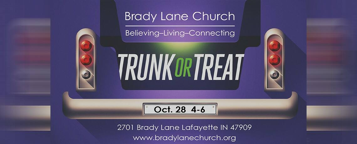 2018 Trunk or Treat Oct 28 4-6pm