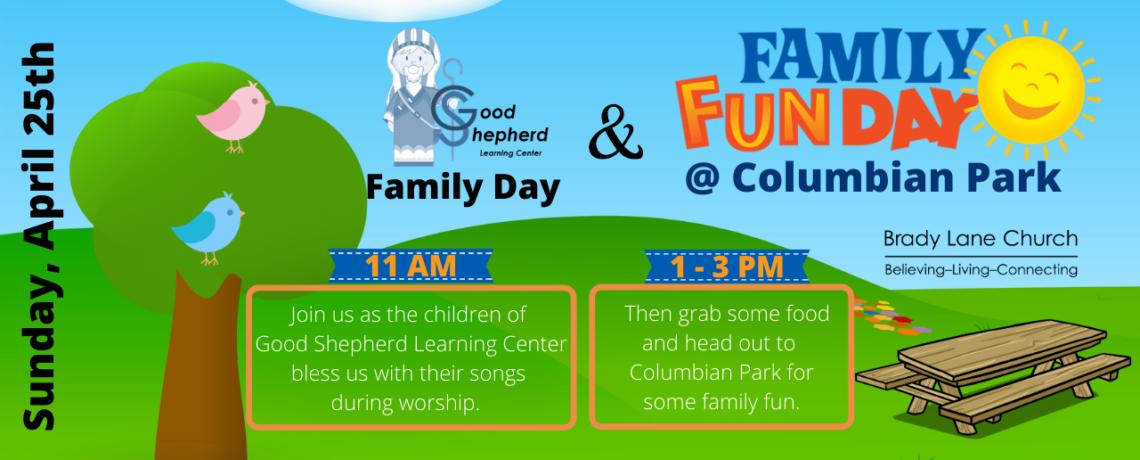 Family Fun Day – April 25th