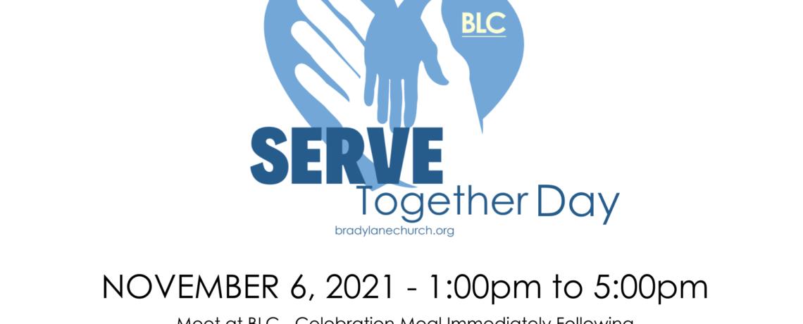 Serve Together Day!